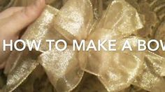 He Shows You How To Make Beautiful Bows Every Time! | DIY Joy Projects and Crafts Ideas