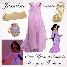 Disney Style: Jasmine (3), created by trulygirlygirl on Polyvore