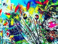 #repost courtesy of @adamamosartist and @socialflotribute Creation Series   by @iamplayamos #contemporaryart #modernart #abstractart #artcollector #acrylic #painting #artist #originalart #hongkongart #dubaiart #newyorkart #montagu #auction #exhibition #art #sothebys #saleart #artforsale #triumphofpainting #berlinart #izmirart #qatarart #romaart #chinaart