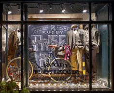 Ralph Lauren Hand-Chalked Store Front