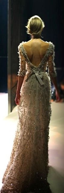 Elie Saab. My reaction to this dress was an actual audible sigh...