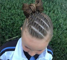 Versatile Braid Styles For Girls That Moms Must Try On Their Daughters - Stylendesigns braid hairstyles New Braided Hairstyles, Sporty Hairstyles, Box Braids Hairstyles, Little Girl Hairstyles, African Hairstyles, Natural Hairstyles, Teenage Hairstyles, Toddler Hairstyles, Hairstyle Short