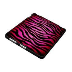 Pink Zebra Ipad Case from Zazzle.com