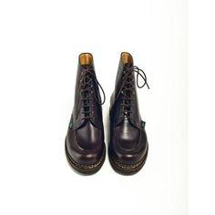 PARABOOT Black Combat Boots with Norwegian seam - New Winter 2012/2013 | eBay