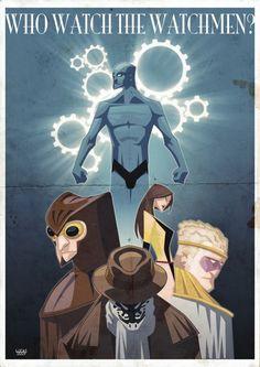 Watchmen - poor grammar, but cool image!