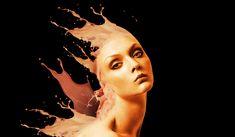 My version of paintsplash Photoshop Tutorial, Antonio Mora, Tutorials, Artwork, Work Of Art, Teaching