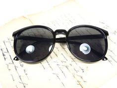 Black Cat eye vintage, cat women sunglasses, Retro Vintage Deadstock secretary Clubmaster summer sunnies classic trend 2016