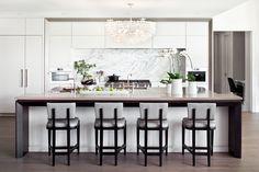 Kitchen designed by Elizabeth Metcalfe Interiors & Design Inc.