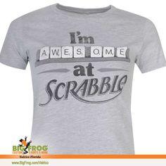 feb4937b of Valrico. Statement ShirtsScrabbleCustom Made. Scrabble t-shirt. At Big  Frog ...