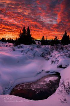 frost on the stream by JrnAllanPedersen via http://ift.tt/2o03faA