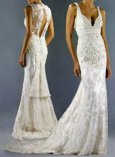 lace wedding dress | gorgeous
