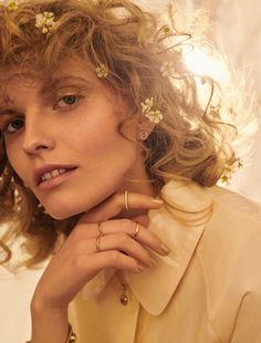 Maria Konieczna is in Full Bloom for Wysokie Obcasy Extra