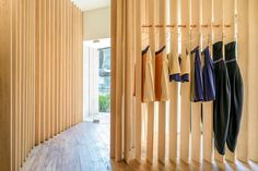 Sandra Weil Store By Zeller U0026 Moye A Structure Of Vertically Arranged  Wooden Slats Clads The