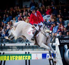 Cedric at the Rotterdam Grand Prix jump off