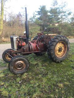 Total renoveret mangler kun maling Tractors, Vehicles, Train, Car, Vehicle, Tools