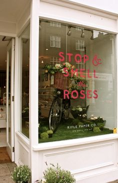 Stop and Smell the Roses at the Northlight presents Rifle Paper Co. London Pop Up 8th - 18th May 2015