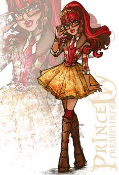 Rosabella Beauty - Fashion Doodle by PrinceIvy-FreshP.deviantart.com on @DeviantArt