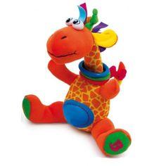 Giraffa Cleo Una giraffa realizzata in tessuti dai colori sgargianti!ali.