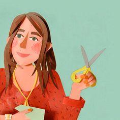 Lonneke Leever - Illustrator met papier
