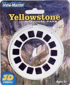 View Master: Yellowstone National Park - Set 1, 2015 Amazon Top Rated Viewfinders #Toy