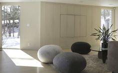 Pebble looking furniture