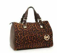 Leopard print Michael kors bag