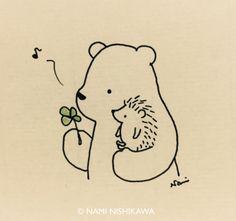 Quant ens agraden les il·lustracions senzilles, les que amb poc traços representen molt. Hem descobert un artista japonès que represent...