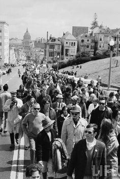 Vietnam war protest, San francisco, 1967