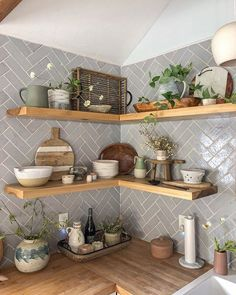 Joss And Main, Kitchen Dinning, Kitchen Decor, Kitchen Design, Homey Kitchen, Dining, Updated Kitchen, Kitchen Shelves, Cozy House