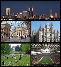 From top, clockwise: Porta Nuova Business District, Milan Cathedral, San Siro Stadium, Parco Sempione with the Arch of Peace in the backgrou. Galleria Vittorio Emanuele Ii, First Class Tickets, Milan Cathedral, Expo 2015, Milan Italy, Reggio Emilia, Oh The Places You'll Go, Beautiful Places, Tours