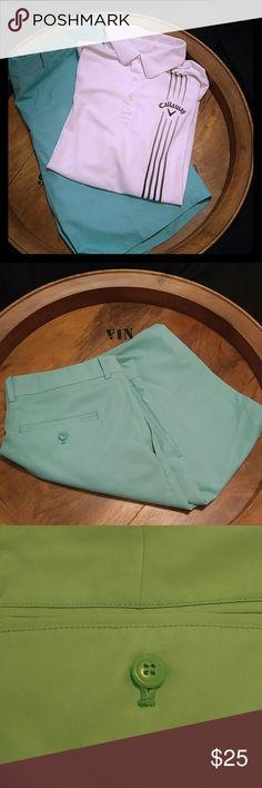 WALTER HAGEN SEAFOAM GREEN SHORTS WALTER HAGEN SEAFOAM GREEN SHORTS. In like new condition. Size 38. WALTER HAGEN Shorts