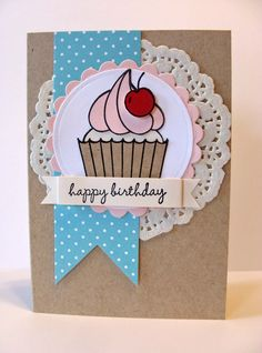 Hey Cupcake Birthday Card