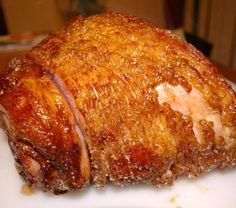 Top 25 Christmas Recipes from the Grill or Smokers: Honey Glazed Smoked Ham