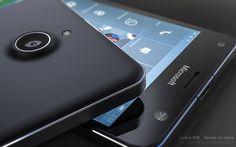 Ancora un altro render del prossimo Microsoft Lumia 850!
