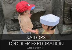 Are your kids interested in superheroes? Why not learn about some real life superheroes like sailors? See an example of a toddler lesson about sailors here. Toddler Class, Toddler Rooms, Navy Memorial, Community Jobs, United States Navy, Sailors, Us Navy, Classroom Activities, Fun Learning