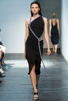 Look 31 of 33 Spring 2015 Ready-to-Wear Dion Lee Model Appoline Rozhdestvenska (IMG)