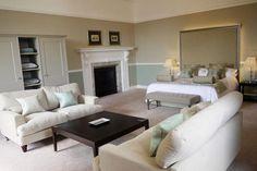 The Honeymoon Suite at Farnham Castle wedding venue in Surrey