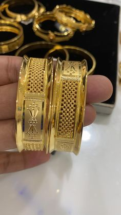Gold Chain Design, Gold Ring Designs, Gold Bangles Design, Gold Earrings Designs, Gold Jewellery Design, Necklace Designs, Gold Bangles For Women, Solid Gold Bangle, Real Diamond Earrings