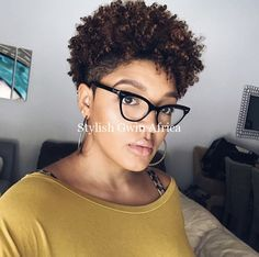 50 Easy Hairstyles For Black Women, Peinados, 50 Easy Hairstyles For Black Women Hair can make you look younger—or older. Choose one of these 50 easy hairstyles approved by hairstylists to rock . Twa Hairstyles, Braided Hairstyles, Black Women Hairstyles, Haircuts, Big Chop Hairstyles, Amazing Hairstyles, Braided Updo, African Hairstyles, Latest Hairstyles