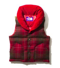 The North Face Purple Label: Harris Tweed Down Vest