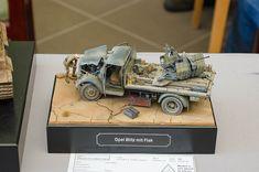 Opel Blitz mit Flak