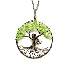 Mother Nature Tree of Life Necklace in Antique by HomeBabyCrafts, $36.00