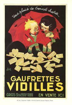250gsm A3 Art Nouveau Poster ALPHONSE MUCHA Chocolat Ideal 1897