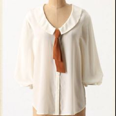 Anthropologie blouse.