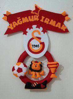 Keçe Galatasaray kapı süsü
