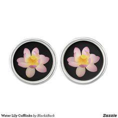 Shop for your next set of Water cufflinks & shirt studs at Zazzle. Designer Cufflinks, Waterproof Coat, Water Lilies, Stylish Men, Create Yourself, Lily, Flowers, Lilies, Bloemen