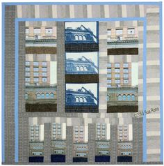 Sue Reno - beautiful use of architecture in art quilts.