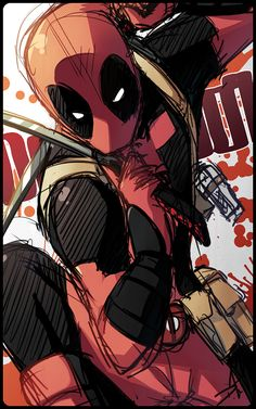Quick Deadpool by Uberzers.deviantart.com on @deviantART