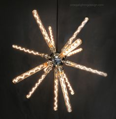 THE SPORE. Made by Omega Lighting Design in Berkeley, CA