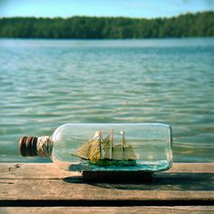 You aren't going to think I'm serious... but I desperately want a ship in a bottle.